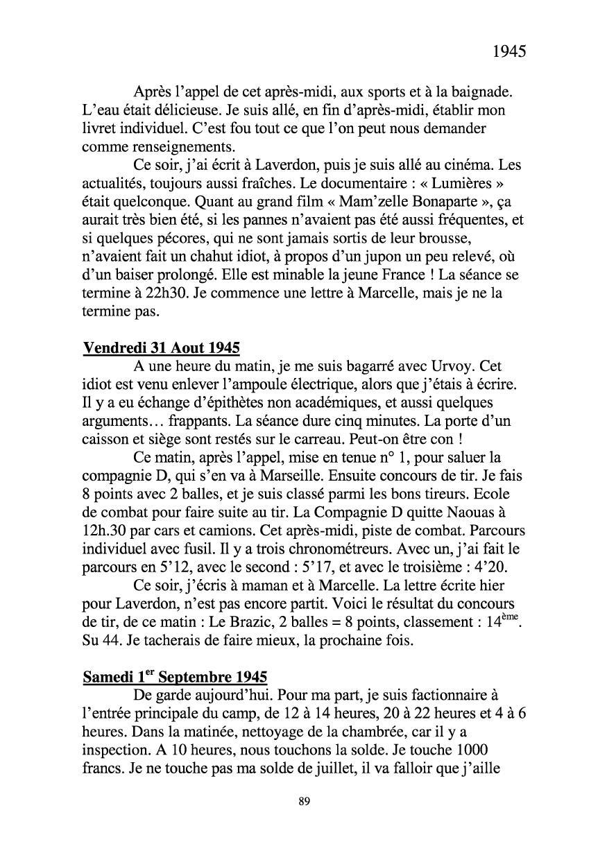 [ Histoires et histoire ] Mon oncle Georges Le Brazic - Carrière Marine, du Maquis à l'Indochine de 44 à 48 Livre285