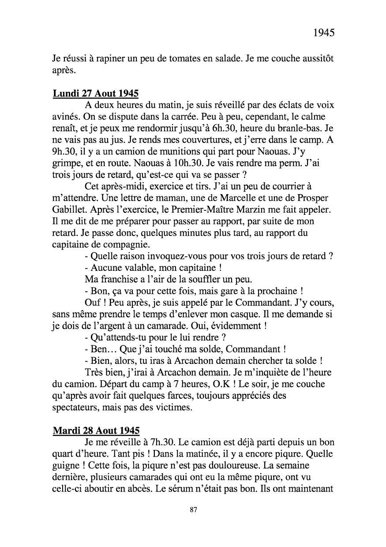 [ Histoires et histoire ] Mon oncle Georges Le Brazic - Carrière Marine, du Maquis à l'Indochine de 44 à 48 Livre286