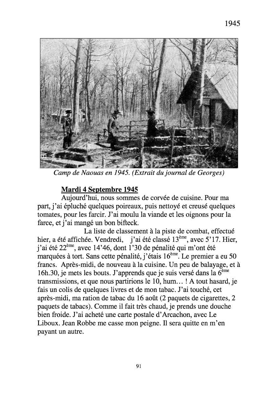 [ Histoires et histoire ] Mon oncle Georges Le Brazic - Carrière Marine, du Maquis à l'Indochine de 44 à 48 Livre287