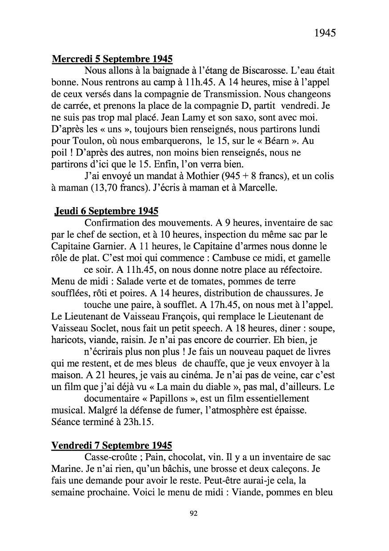 [ Histoires et histoire ] Mon oncle Georges Le Brazic - Carrière Marine, du Maquis à l'Indochine de 44 à 48 Livre288