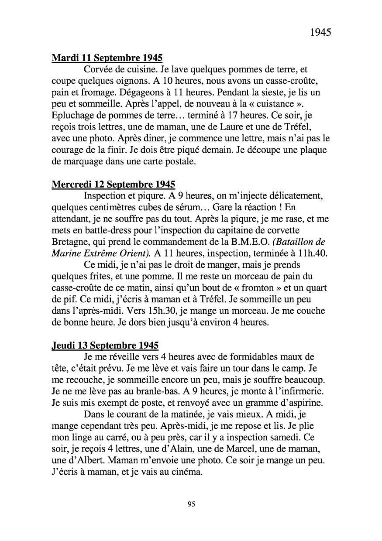 [ Histoires et histoire ] Mon oncle Georges Le Brazic - Carrière Marine, du Maquis à l'Indochine de 44 à 48 Livre290