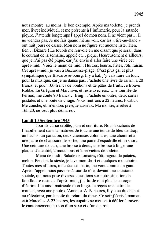 [ Histoires et histoire ] Mon oncle Georges Le Brazic - Carrière Marine, du Maquis à l'Indochine de 44 à 48 Livre291