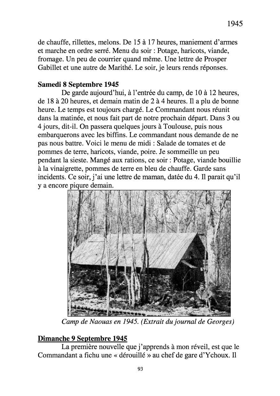 [ Histoires et histoire ] Mon oncle Georges Le Brazic - Carrière Marine, du Maquis à l'Indochine de 44 à 48 Livre292