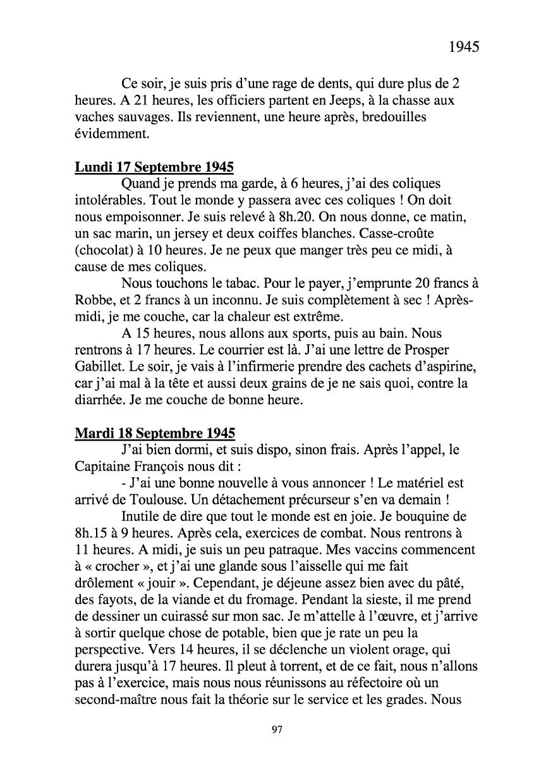 [ Histoires et histoire ] Mon oncle Georges Le Brazic - Carrière Marine, du Maquis à l'Indochine de 44 à 48 Livre294