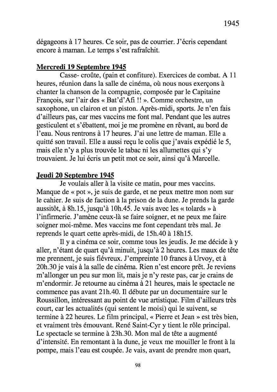 [ Histoires et histoire ] Mon oncle Georges Le Brazic - Carrière Marine, du Maquis à l'Indochine de 44 à 48 Livre295