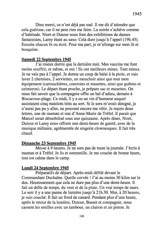 [ Histoires et histoire ] Mon oncle Georges Le Brazic - Carrière Marine, du Maquis à l'Indochine de 44 à 48 Livre297