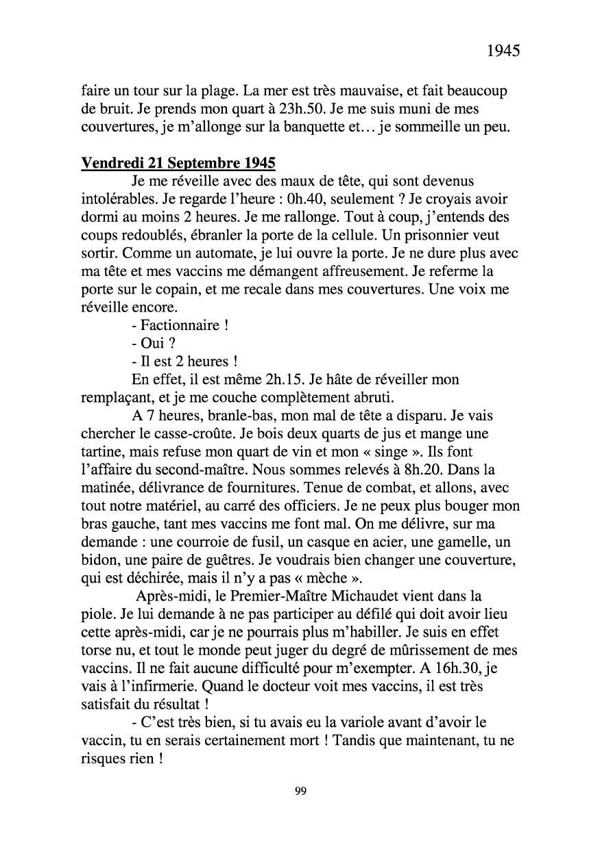 [ Histoires et histoire ] Mon oncle Georges Le Brazic - Carrière Marine, du Maquis à l'Indochine de 44 à 48 Livre298