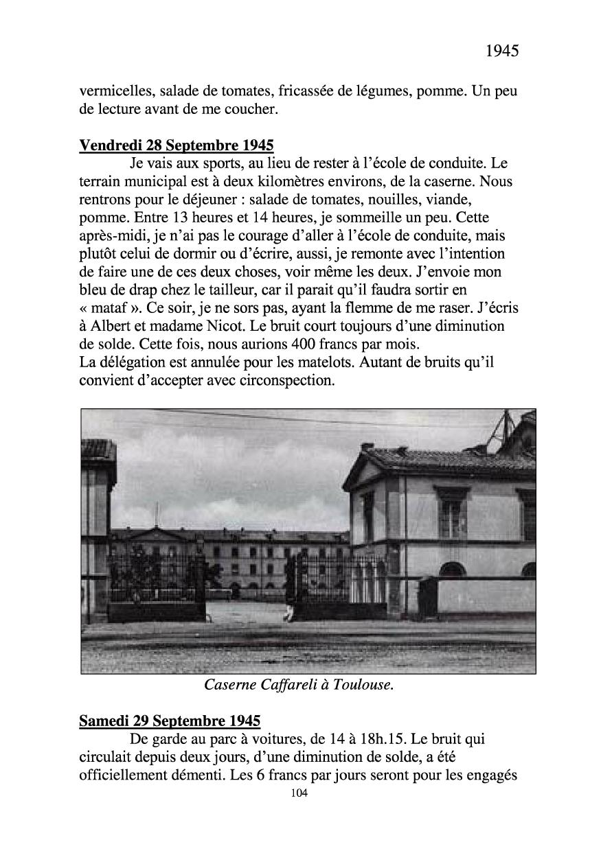[ Histoires et histoire ] Mon oncle Georges Le Brazic - Carrière Marine, du Maquis à l'Indochine de 44 à 48 Livre299