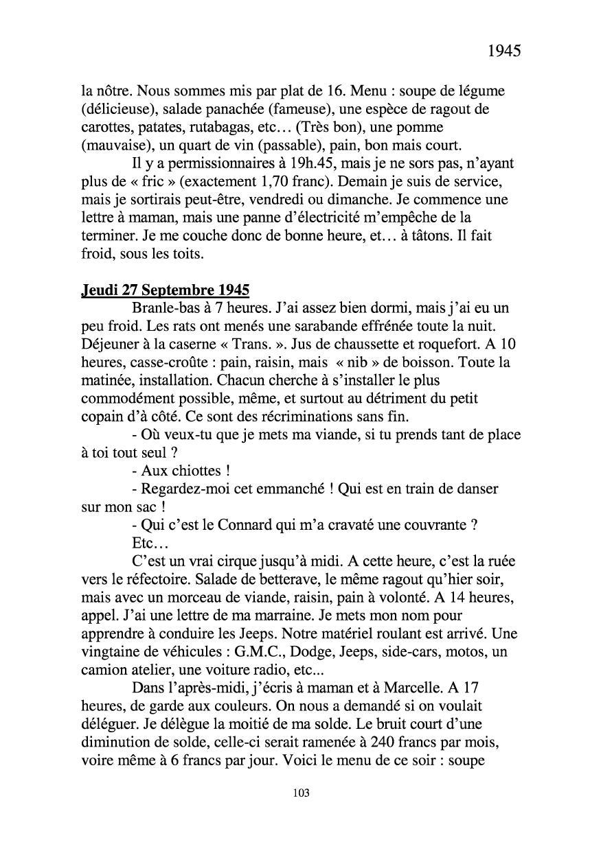 [ Histoires et histoire ] Mon oncle Georges Le Brazic - Carrière Marine, du Maquis à l'Indochine de 44 à 48 Livre301