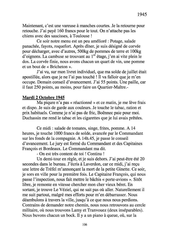 [ Histoires et histoire ] Mon oncle Georges Le Brazic - Carrière Marine, du Maquis à l'Indochine de 44 à 48 Livre303