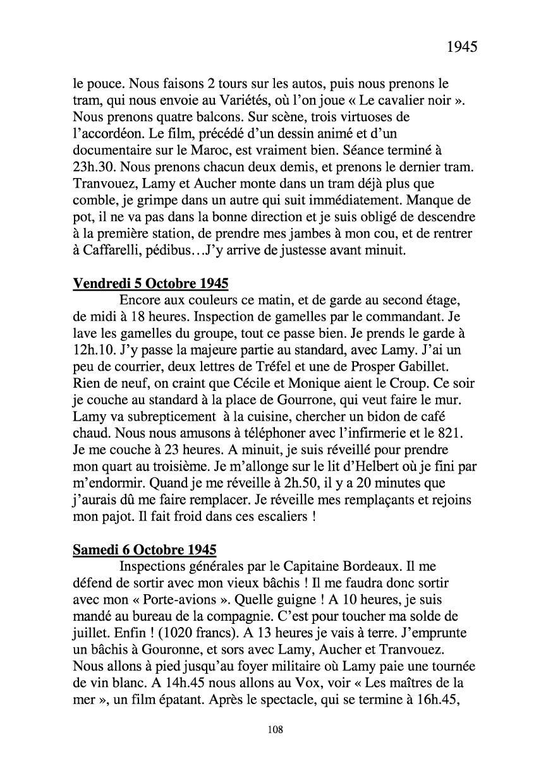 [ Histoires et histoire ] Mon oncle Georges Le Brazic - Carrière Marine, du Maquis à l'Indochine de 44 à 48 Livre307