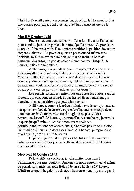 [ Histoires et histoire ] Mon oncle Georges Le Brazic - Carrière Marine, du Maquis à l'Indochine de 44 à 48 Livre309