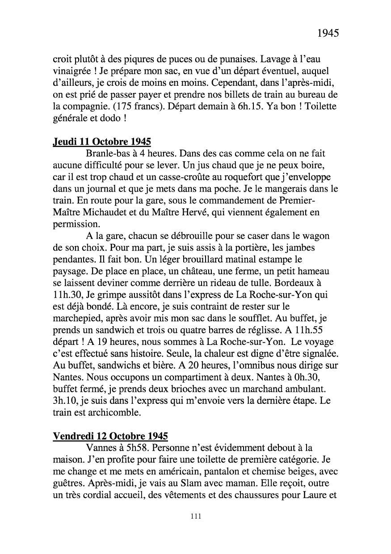 [ Histoires et histoire ] Mon oncle Georges Le Brazic - Carrière Marine, du Maquis à l'Indochine de 44 à 48 Livre310