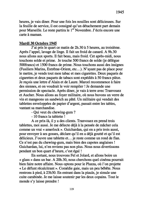 [ Histoires et histoire ] Mon oncle Georges Le Brazic - Carrière Marine, du Maquis à l'Indochine de 44 à 48 - Page 2 Livre340