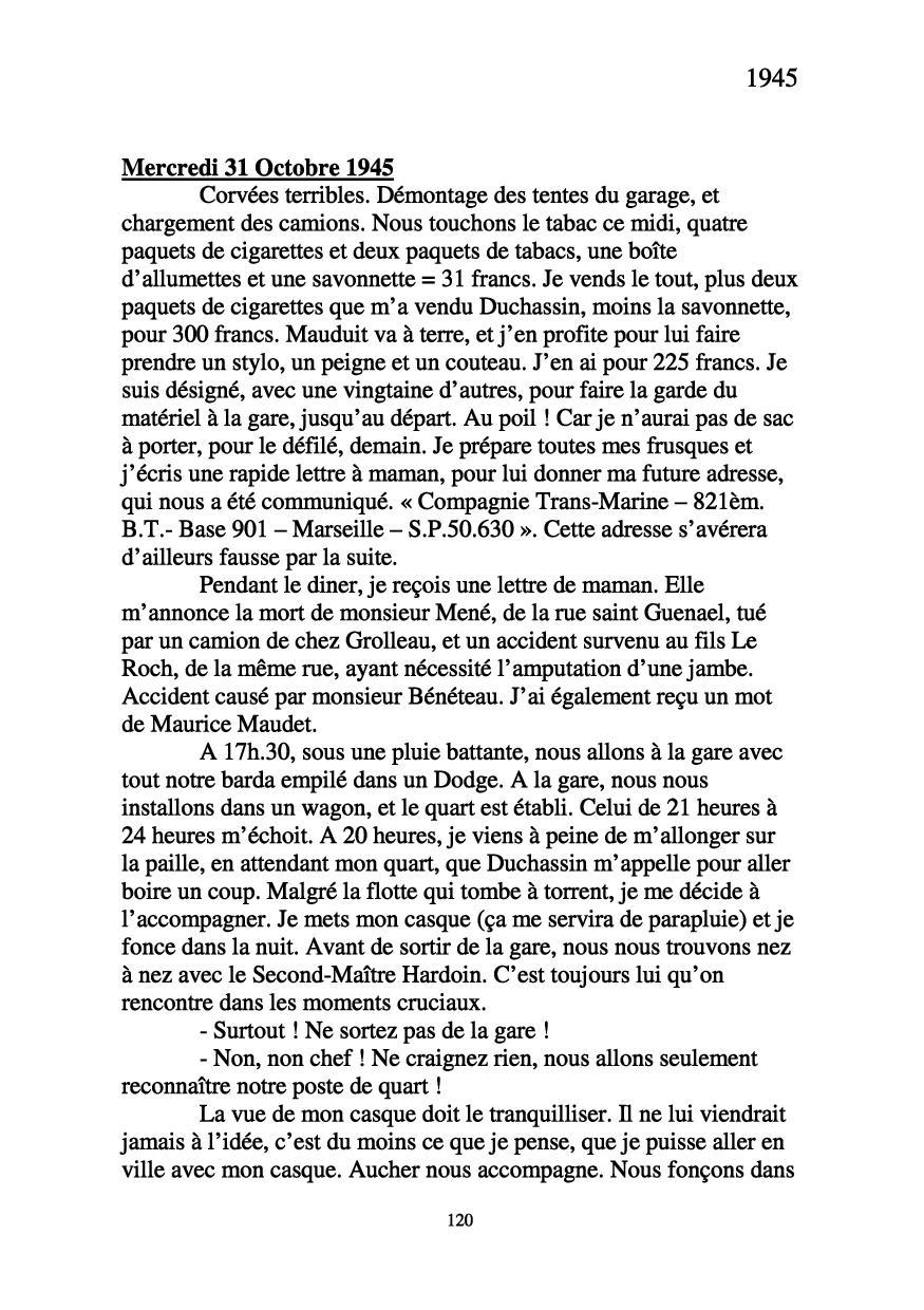[ Histoires et histoire ] Mon oncle Georges Le Brazic - Carrière Marine, du Maquis à l'Indochine de 44 à 48 - Page 2 Livre342