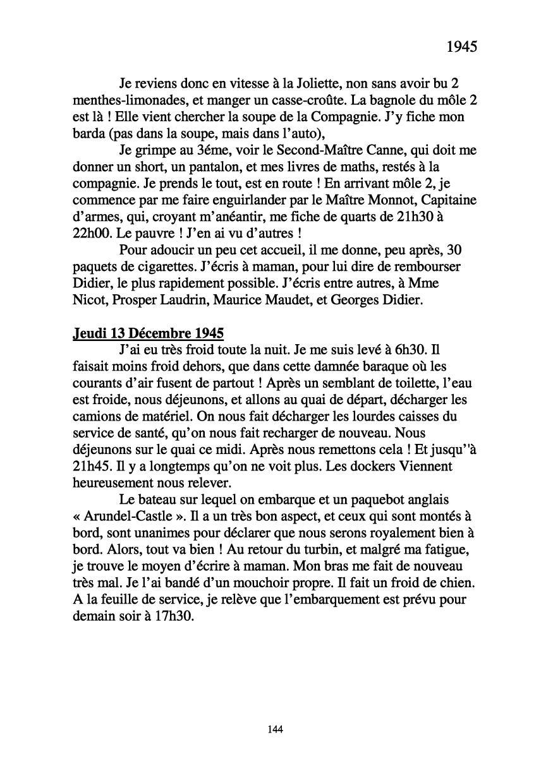 [ Histoires et histoire ] Mon oncle Georges Le Brazic - Carrière Marine, du Maquis à l'Indochine de 44 à 48 - Page 2 Livre369