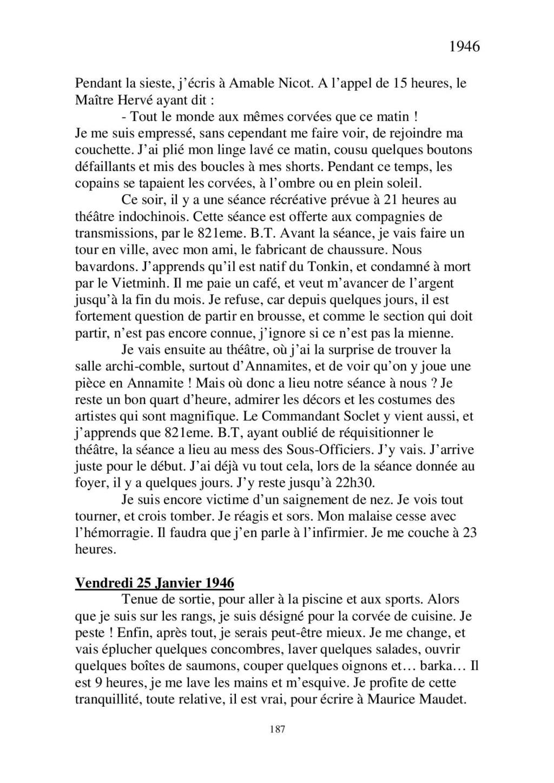 [ Histoires et histoire ] Mon oncle Georges Le Brazic - Carrière Marine, du Maquis à l'Indochine de 44 à 48 - Page 2 Livre418