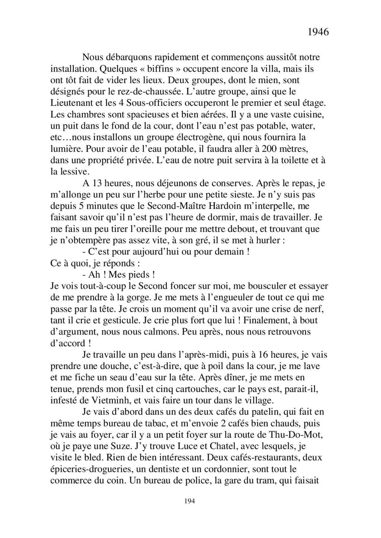 [ Histoires et histoire ] Mon oncle Georges Le Brazic - Carrière Marine, du Maquis à l'Indochine de 44 à 48 - Page 2 Livre426