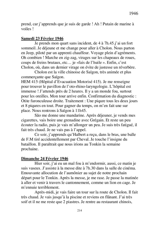 [ Histoires et histoire ] Mon oncle Georges Le Brazic - Carrière Marine, du Maquis à l'Indochine de 44 à 48 - Page 2 Livre448