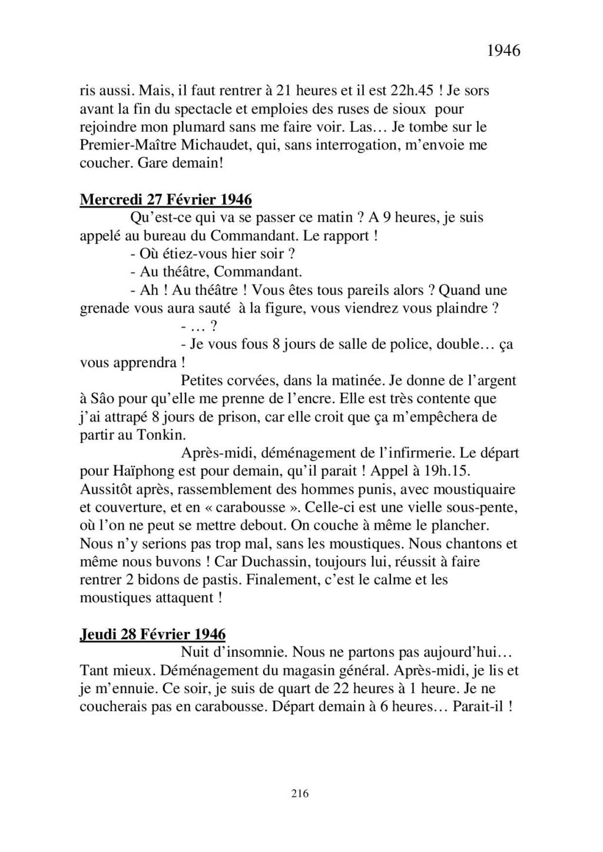 [ Histoires et histoire ] Mon oncle Georges Le Brazic - Carrière Marine, du Maquis à l'Indochine de 44 à 48 - Page 2 Livre450