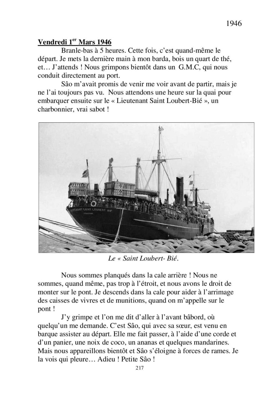 [ Histoires et histoire ] Mon oncle Georges Le Brazic - Carrière Marine, du Maquis à l'Indochine de 44 à 48 - Page 2 Livre451