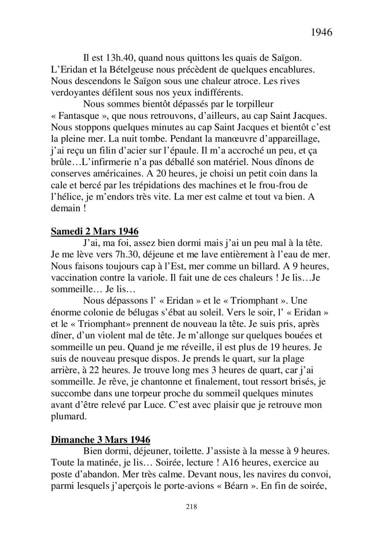 [ Histoires et histoire ] Mon oncle Georges Le Brazic - Carrière Marine, du Maquis à l'Indochine de 44 à 48 - Page 2 Livre452