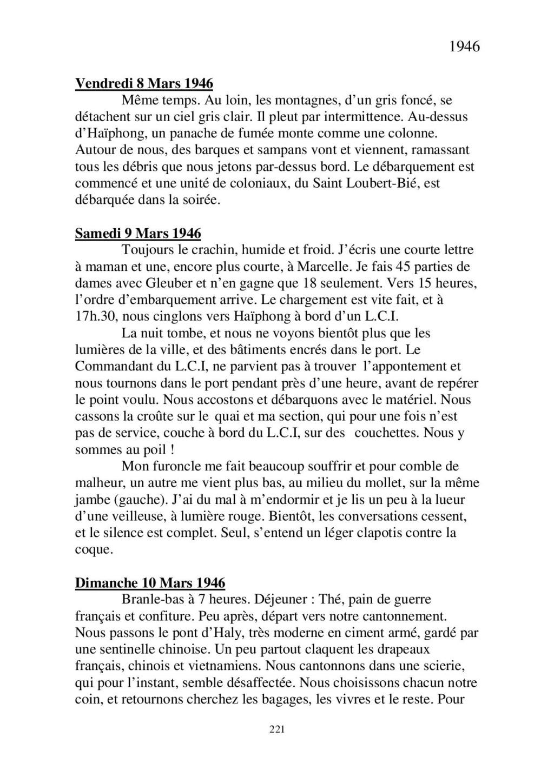 [ Histoires et histoire ] Mon oncle Georges Le Brazic - Carrière Marine, du Maquis à l'Indochine de 44 à 48 - Page 2 Livre455