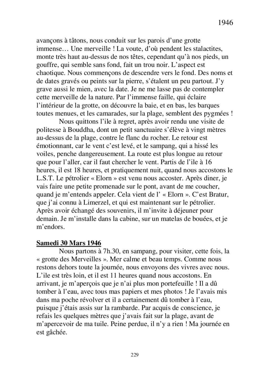 [ Histoires et histoire ] Mon oncle Georges Le Brazic - Carrière Marine, du Maquis à l'Indochine de 44 à 48 - Page 2 Livre464