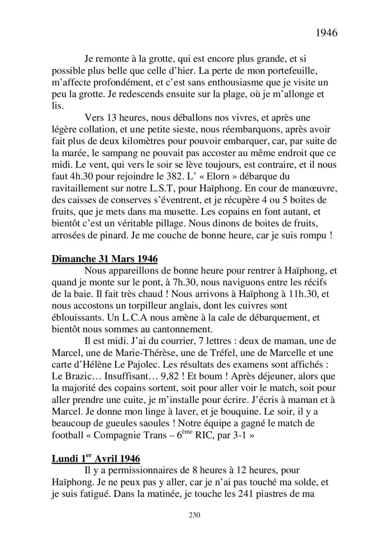 [ Histoires et histoire ] Mon oncle Georges Le Brazic - Carrière Marine, du Maquis à l'Indochine de 44 à 48 - Page 2 Livre465