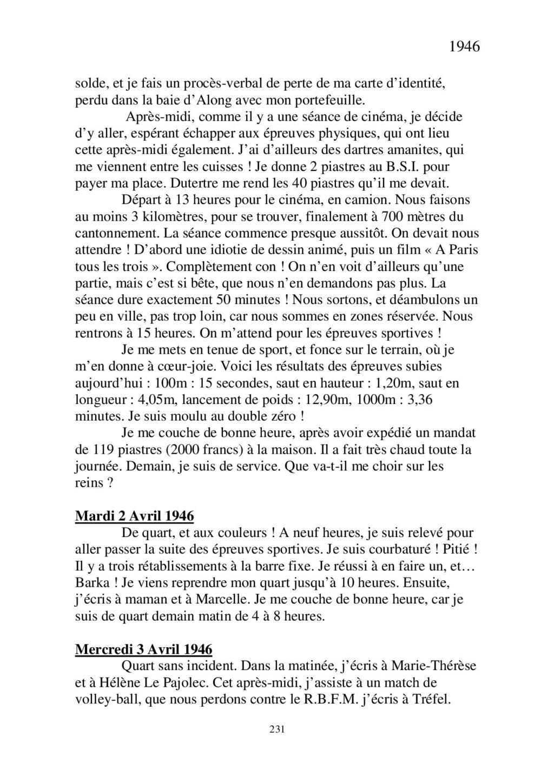 [ Histoires et histoire ] Mon oncle Georges Le Brazic - Carrière Marine, du Maquis à l'Indochine de 44 à 48 - Page 2 Livre466