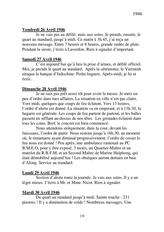 [ Histoires et histoire ] Mon oncle Georges Le Brazic - Carrière Marine, du Maquis à l'Indochine de 44 à 48 - Page 2 Livre474