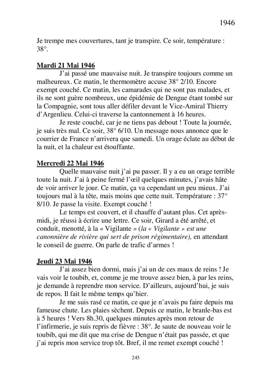[ Histoire et histoires ] Mon oncle Georges Le Brazic - Carrière Marine, du Maquis à l'Indochine de 44 à 48 - Page 3 Livre481