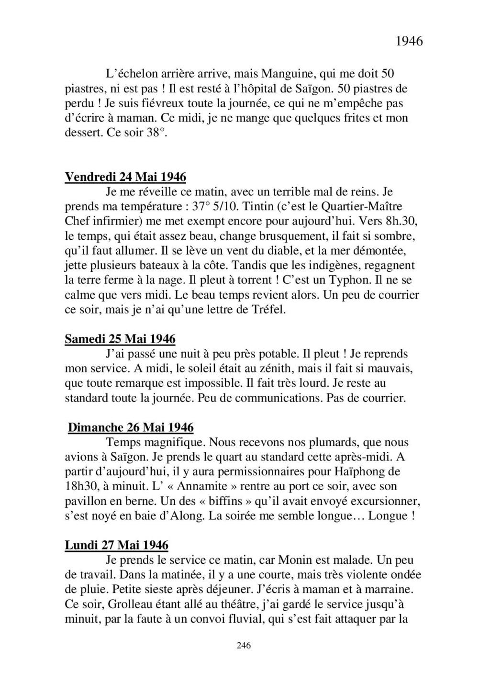 [ Histoire et histoires ] Mon oncle Georges Le Brazic - Carrière Marine, du Maquis à l'Indochine de 44 à 48 - Page 3 Livre482