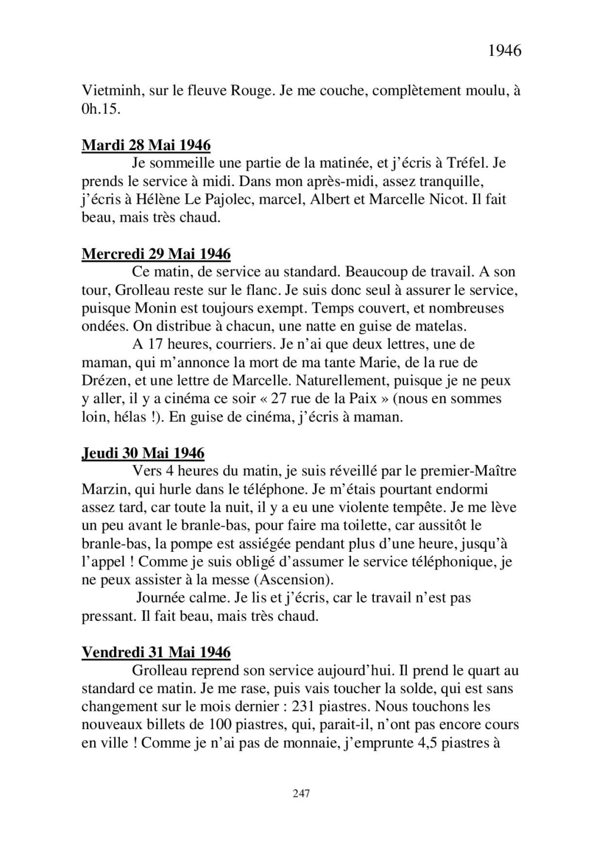 [ Histoire et histoires ] Mon oncle Georges Le Brazic - Carrière Marine, du Maquis à l'Indochine de 44 à 48 - Page 3 Livre483