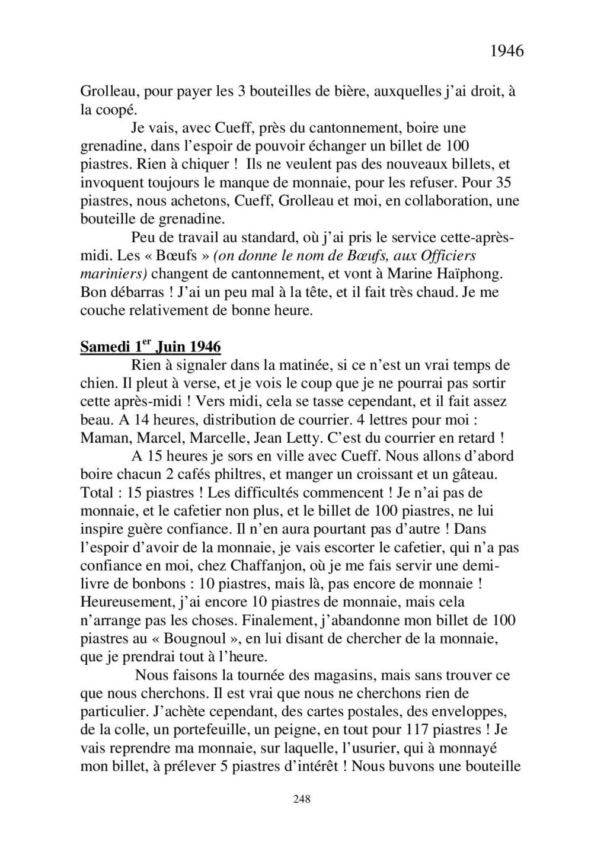 [ Histoire et histoires ] Mon oncle Georges Le Brazic - Carrière Marine, du Maquis à l'Indochine de 44 à 48 - Page 3 Livre485