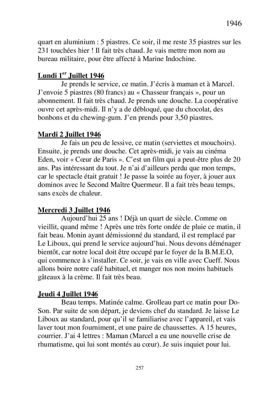 [ Histoire et histoires ] Mon oncle Georges Le Brazic - Carrière Marine, du Maquis à l'Indochine de 44 à 48 - Page 3 Livre494