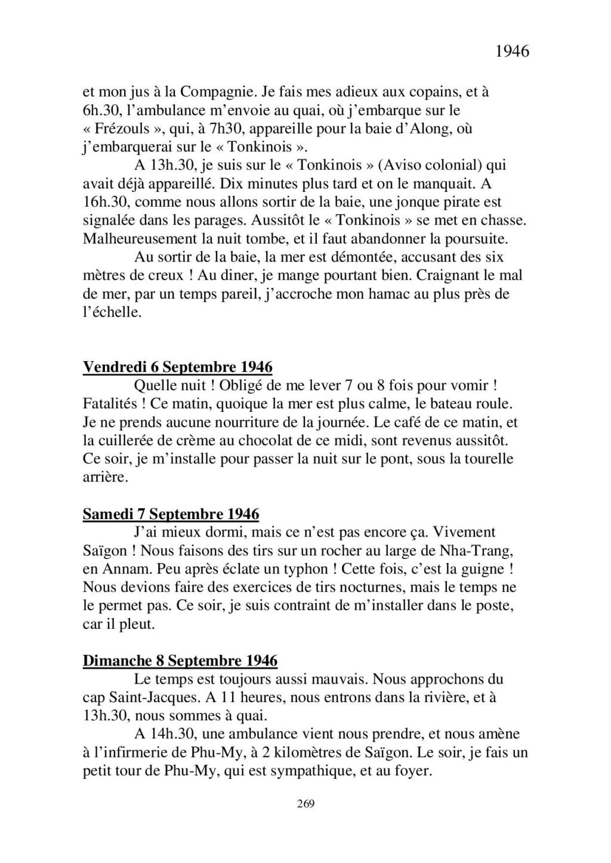 [ Histoire et histoires ] Mon oncle Georges Le Brazic - Carrière Marine, du Maquis à l'Indochine de 44 à 48 - Page 3 Livre507
