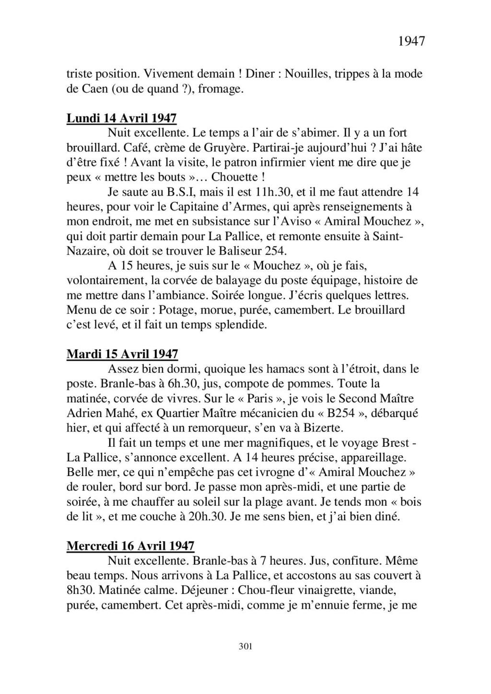 [ Histoire et histoires ] Mon oncle Georges Le Brazic - Carrière Marine, du Maquis à l'Indochine de 44 à 48 - Page 3 Livre544