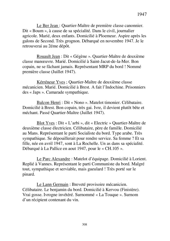 [ Histoire et histoires ] Mon oncle Georges Le Brazic - Carrière Marine, du Maquis à l'Indochine de 44 à 48 - Page 3 Livre549