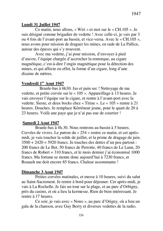 [ Histoires et histoire ] Mon oncle Georges Le Brazic - Carrière Marine, du Maquis à l'Indochine de 44 à 48 - Page 4 Livre571