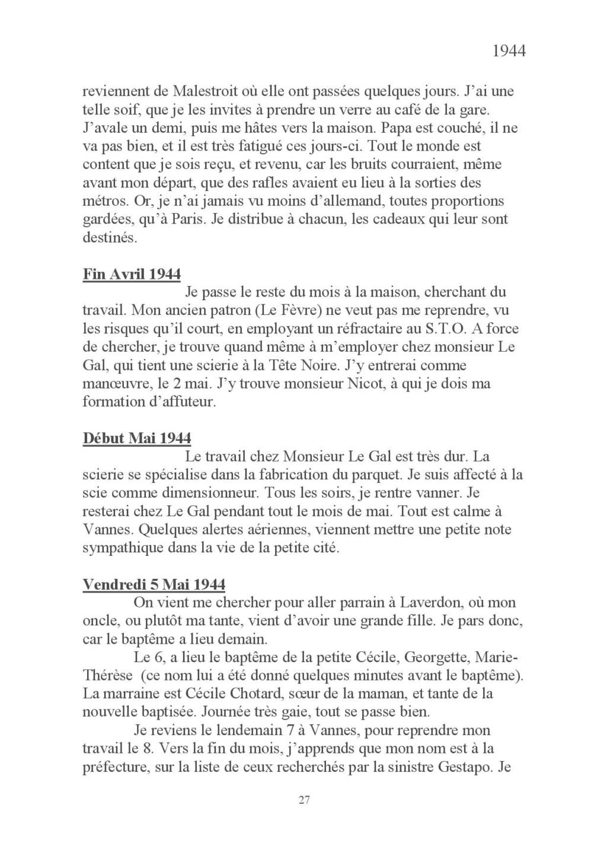 [ Histoires et histoire ] Mon oncle Georges Le Brazic - Carrière Marine, du Maquis à l'Indochine de 44 à 48 Livre_42