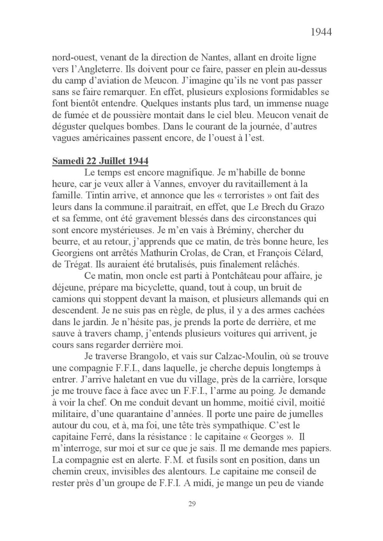 [ Histoires et histoire ] Mon oncle Georges Le Brazic - Carrière Marine, du Maquis à l'Indochine de 44 à 48 Livre_44