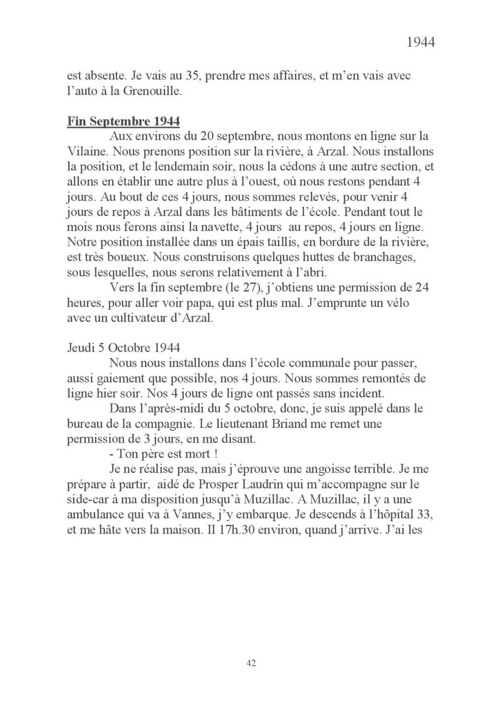 [ Histoires et histoire ] Mon oncle Georges Le Brazic - Carrière Marine, du Maquis à l'Indochine de 44 à 48 Livre_58