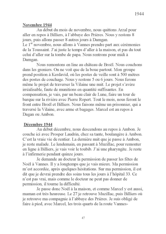 [ Histoires et histoire ] Mon oncle Georges Le Brazic - Carrière Marine, du Maquis à l'Indochine de 44 à 48 Livre_60