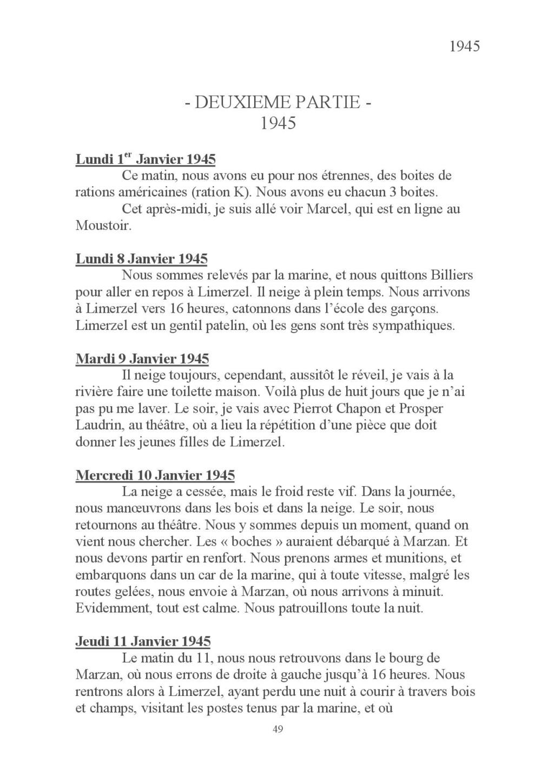 [ Histoires et histoire ] Mon oncle Georges Le Brazic - Carrière Marine, du Maquis à l'Indochine de 44 à 48 Livre_64