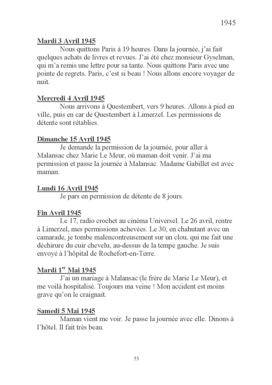 [ Histoires et histoire ] Mon oncle Georges Le Brazic - Carrière Marine, du Maquis à l'Indochine de 44 à 48 Livre_66