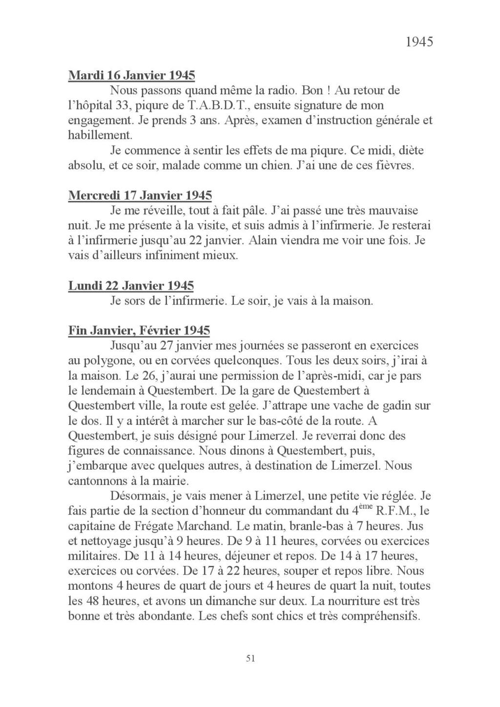 [ Histoires et histoire ] Mon oncle Georges Le Brazic - Carrière Marine, du Maquis à l'Indochine de 44 à 48 Livre_67