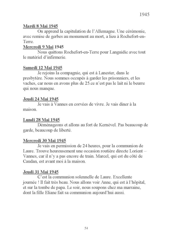 [ Histoires et histoire ] Mon oncle Georges Le Brazic - Carrière Marine, du Maquis à l'Indochine de 44 à 48 Livre_69