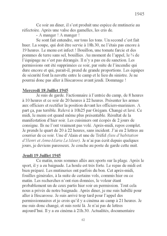 [ Histoires et histoire ] Mon oncle Georges Le Brazic - Carrière Marine, du Maquis à l'Indochine de 44 à 48 Livre_77