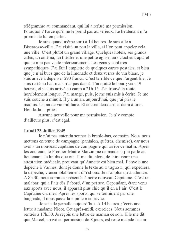[ Histoires et histoire ] Mon oncle Georges Le Brazic - Carrière Marine, du Maquis à l'Indochine de 44 à 48 Livre_80
